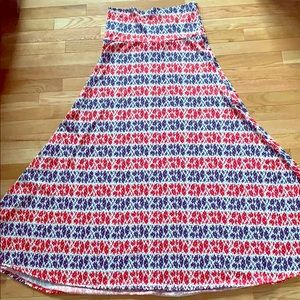 4th of July maxi red white and blue